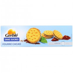 GERBLE SANS SUCRE FOUREE CACAO
